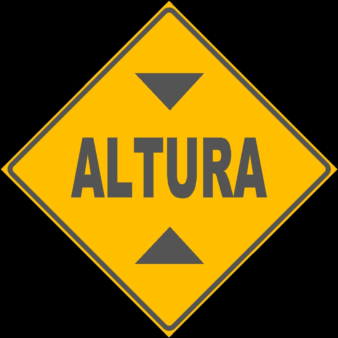 Road Signs And Symbols Caution Warning Brazil Dwg Block