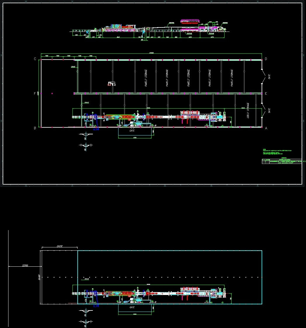 Cad Drawing Roof Sandwich Panels : Sandwich panel factory dwg block for autocad designs cad