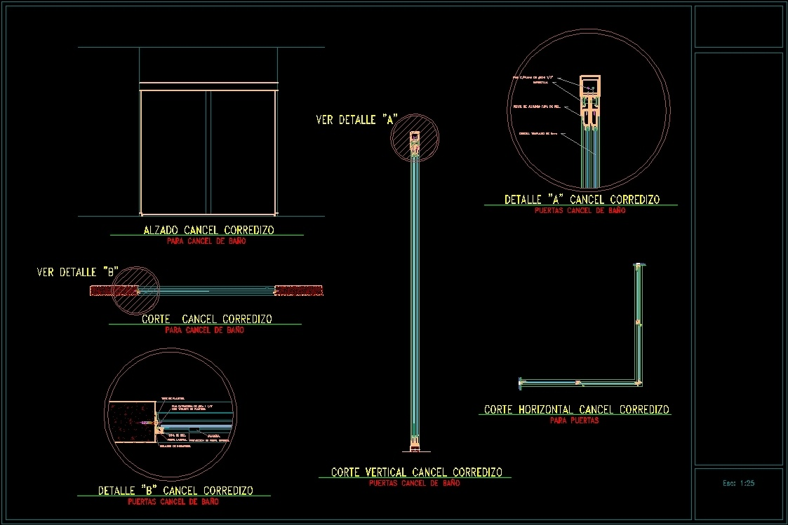 Screen Dwg Detail For Autocad Designs Cad