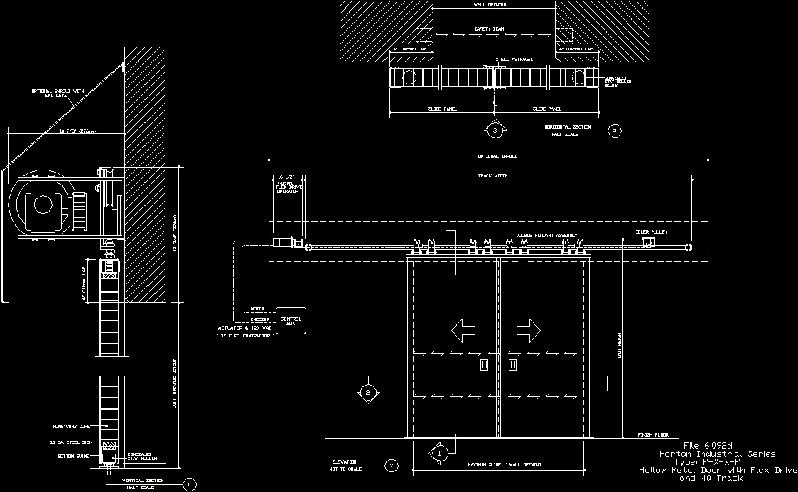 Sliding Door Plan Cad Sliding Door Designs