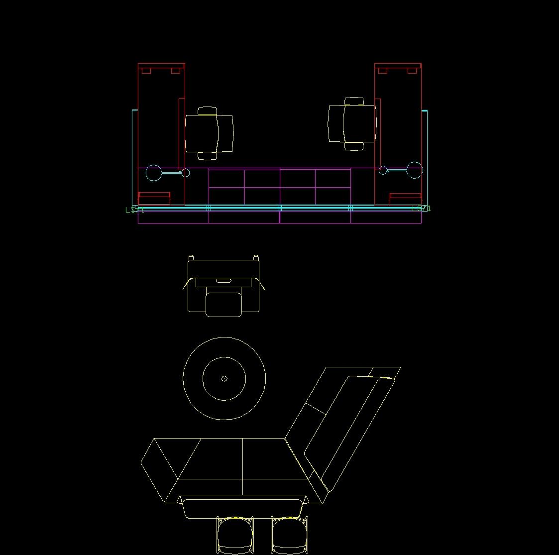 Steel Case Furniture Dwg Block For Autocad Designs Cad