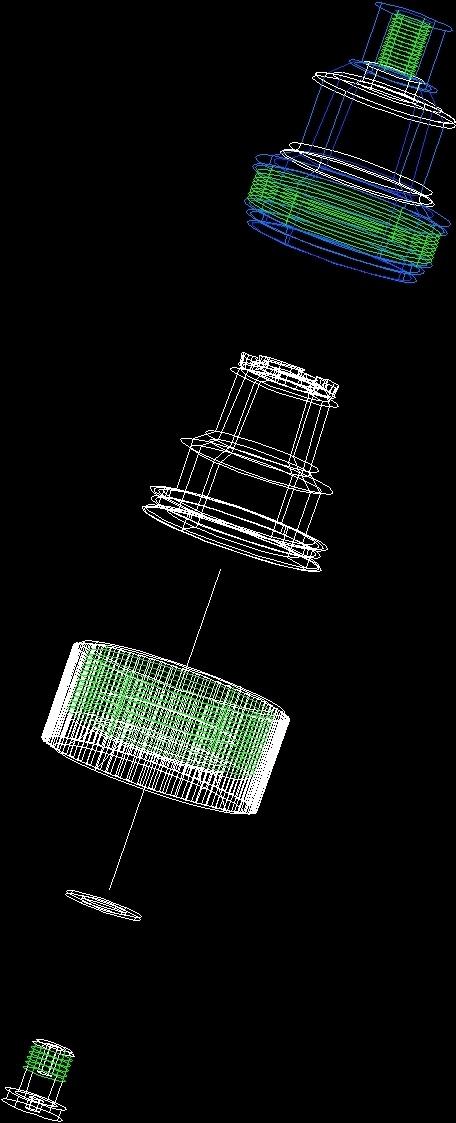 Tulipa Bolt Full 1 Liter Bottle DWG Block for AutoCAD • Designs CAD