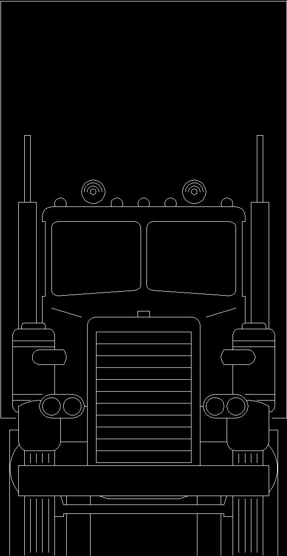 Vehicles Cars Semi Trailer Fire Truck Tractors Dwg Block For Autocad Designs Cad