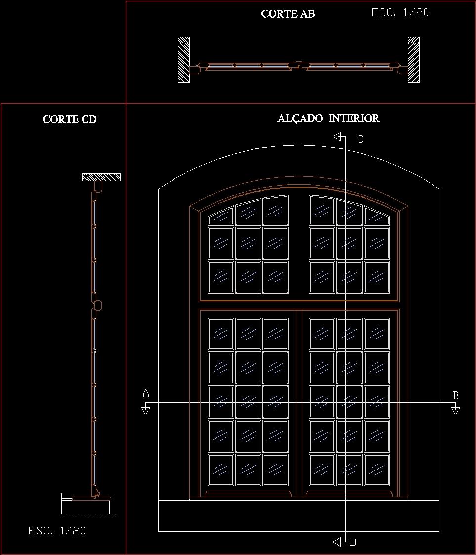 Garage Door Section Cad Block - Garage Designs