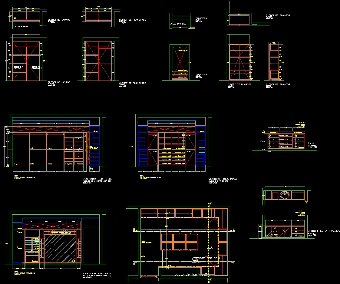 Autocad Kitchen Cabinet Blocks