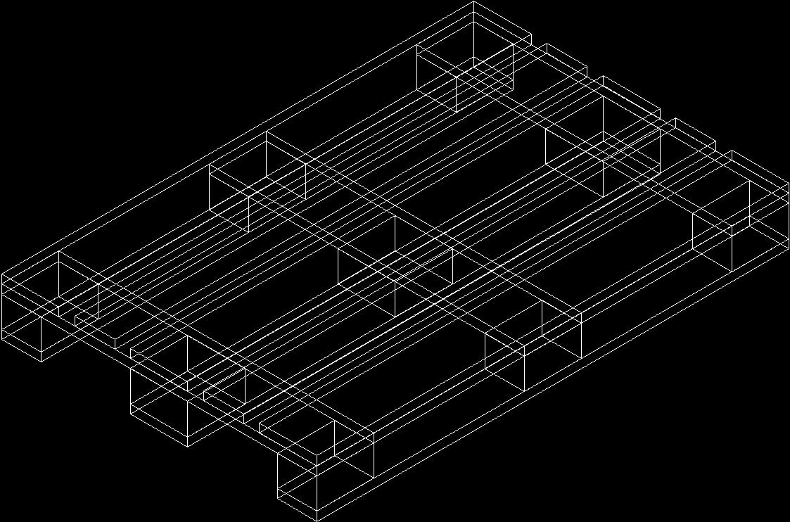 Wooden Pallets 3d Dwg Model For Autocad Designs Cad