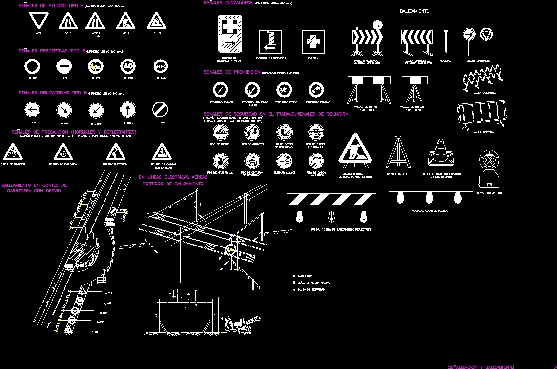 Signals And Beacons DWG Block for AutoCAD – Designs CAD