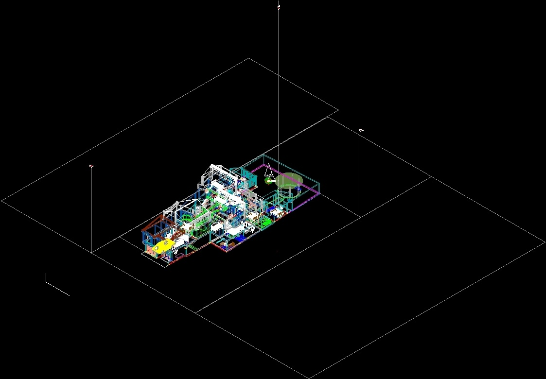 House 3d Dwg Model For Autocad Designs Cad # Muebles Gimnasio Dwg