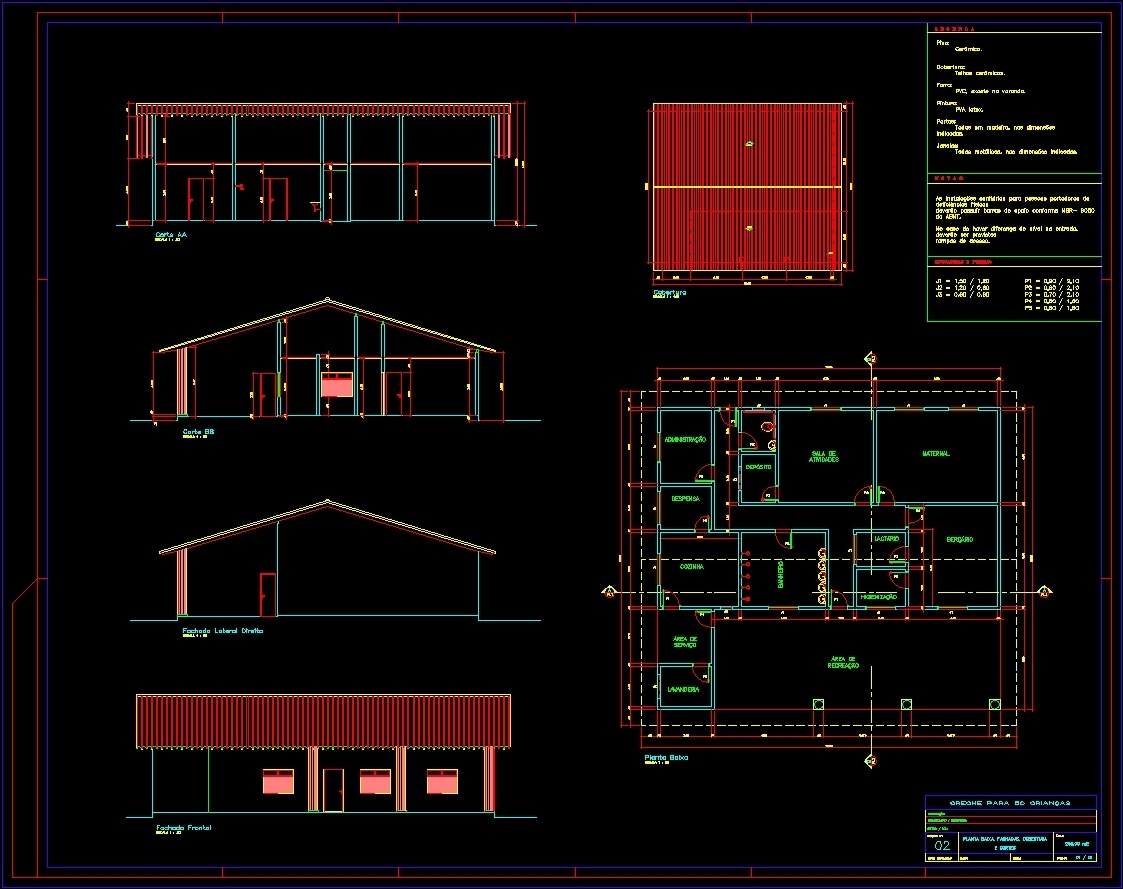 Nursery For 50 Babies Dwg Block For Autocad Designs Cad