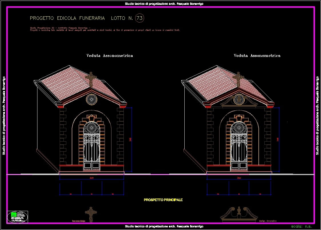 Rivestimento In Pietra Dwg : Private chapel dwg section for autocad u designs cad