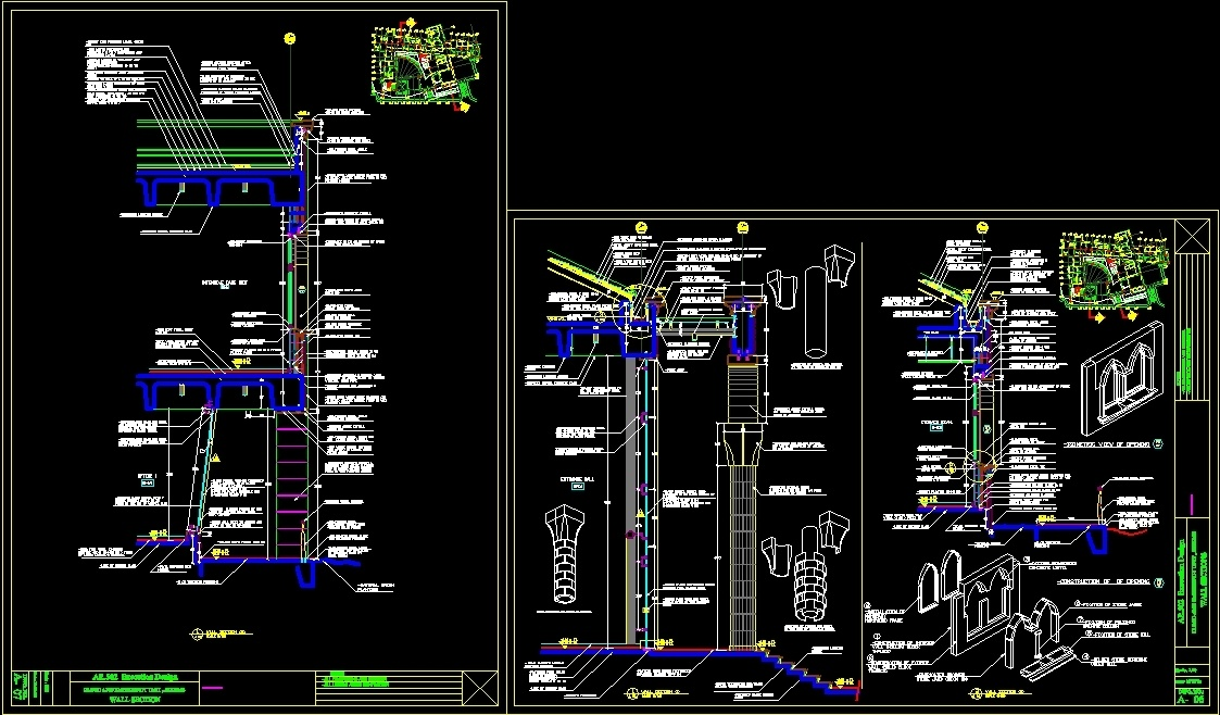 School DWG Plan for AutoCAD