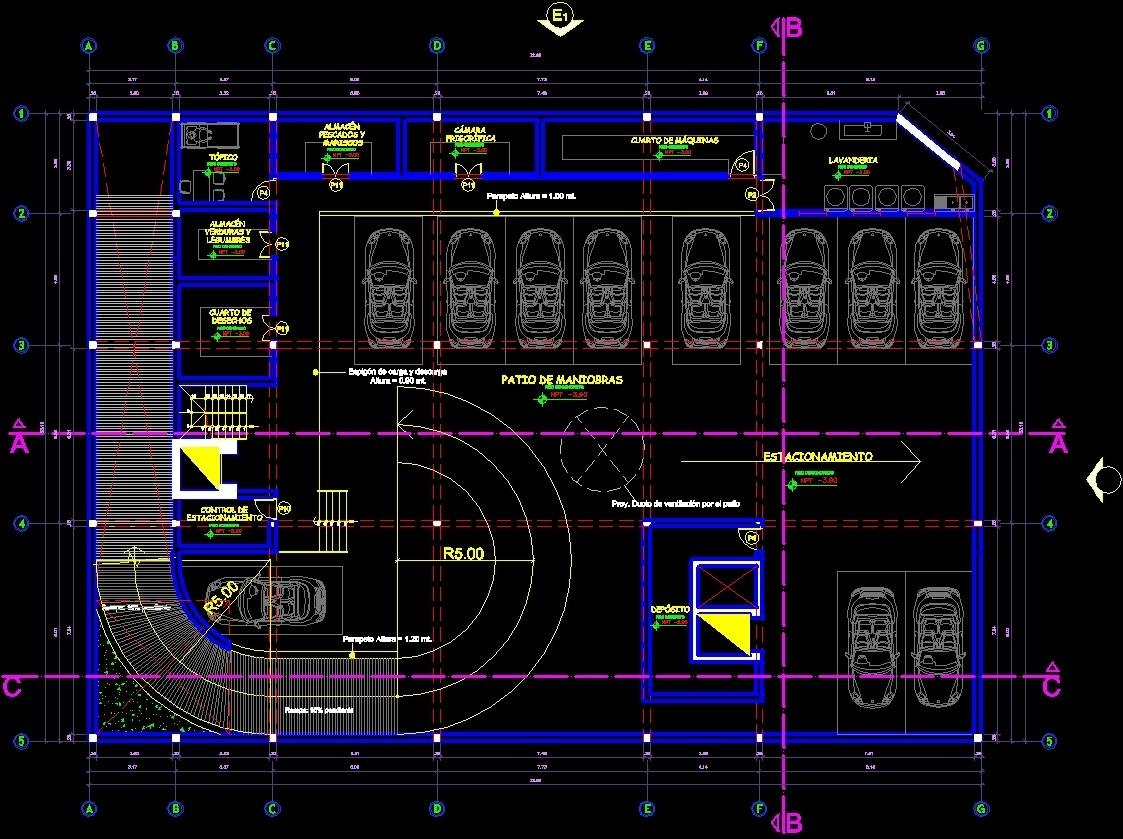 parking lot dwg block for autocad  u2022 designs cad