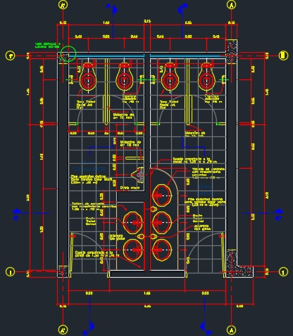 Sanitary In Hospitals And Health Centers 2d Dwg Plan For