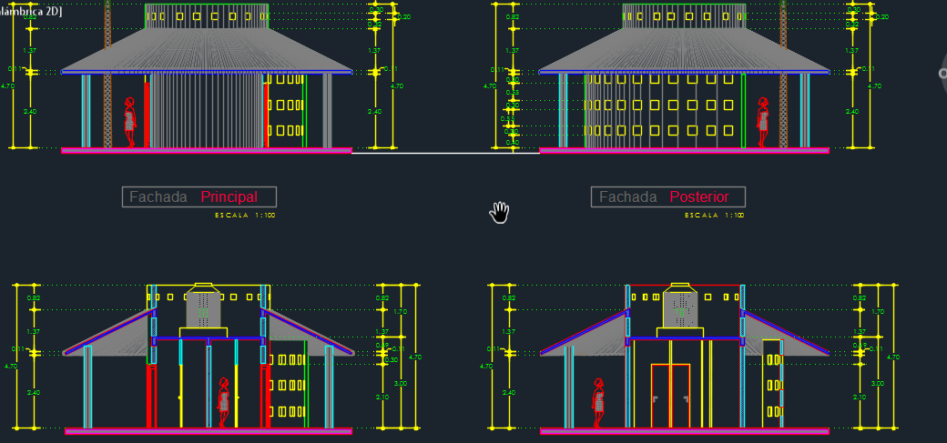 Service Kiosk 2d Dwg Design Section For Autocad Designs Cad