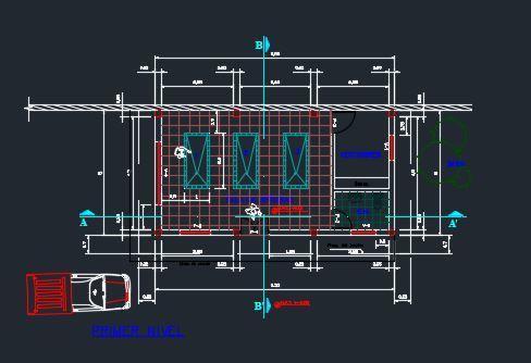 Morgue Center 2d Dwg Block For Autocad Designs Cad