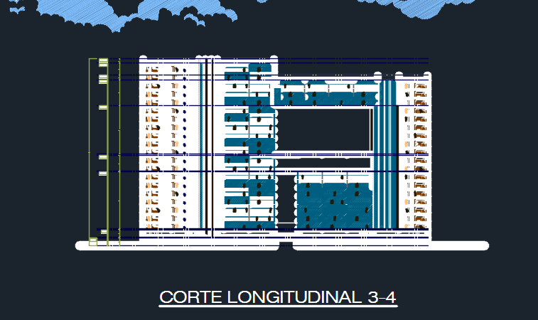 Five Star Modern Hotel 2d Dwg Design Elevation For Autocad