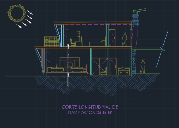 hotel project 2d dwg design full project for autocad