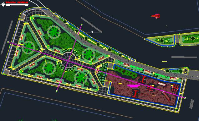 Playground 2d Dwg Design Block For Autocad Designscad