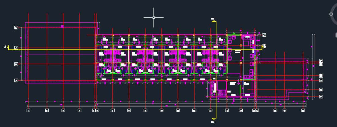 Motel d dwg design full project for autocad designs cad