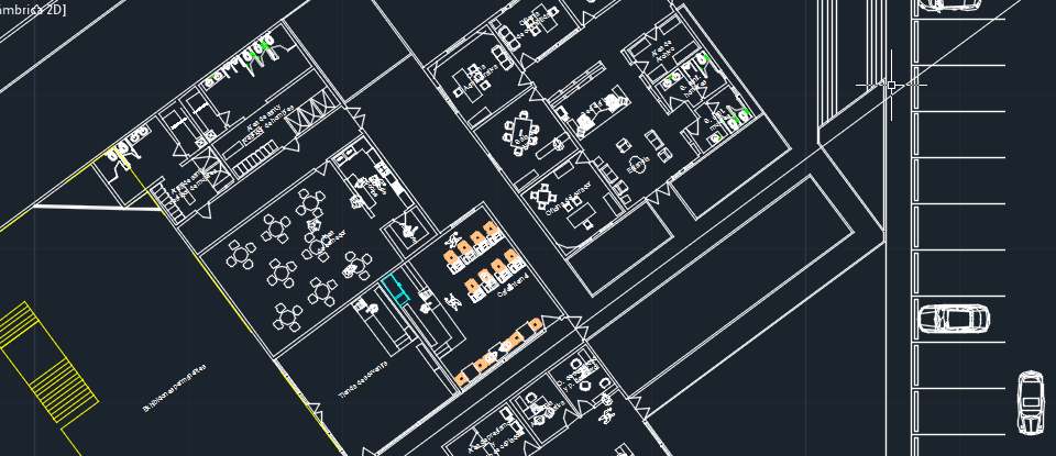 museum of science and industrial technology 2d dwg design