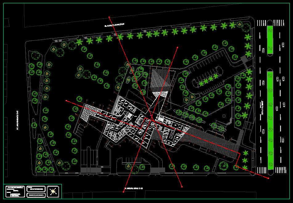 Hospital 2d Dwg Plan For Autocad Designs Cad