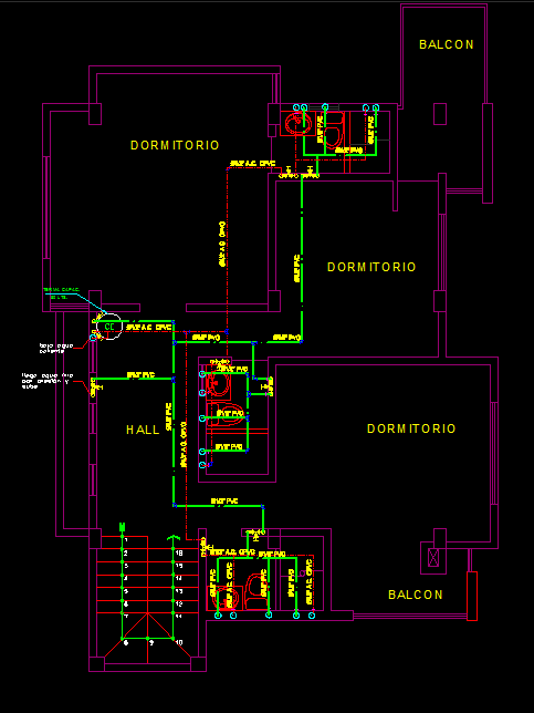 House With Details 2d Dwg Plan For Autocad Designs Cad