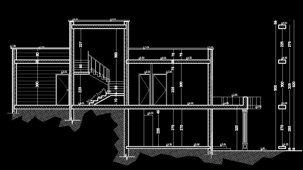 Old fashion house 2d dwg plan for autocad designs cad for Cad car plan