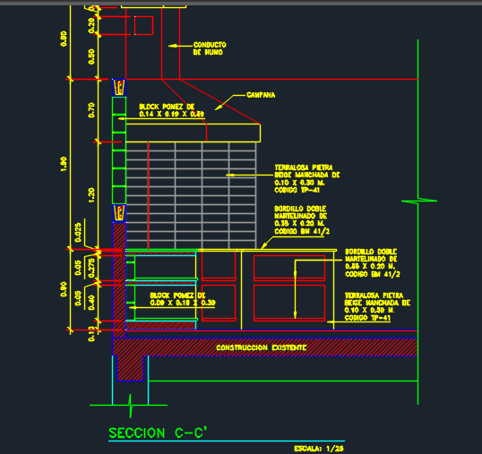 Swimming Pool With Barbeque Area 2d Dwg Design Plan For
