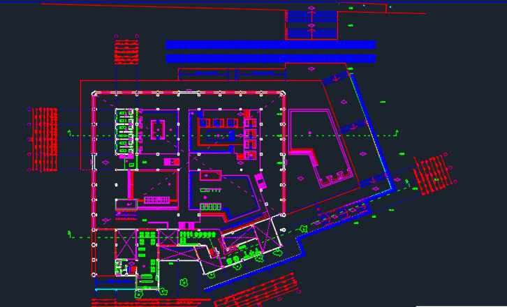 Spa And Physiotherapy 2d Dwg Design Full Project For Autocad
