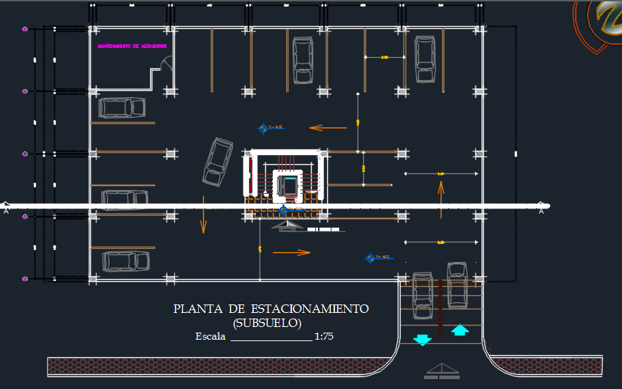 Apartment Building 7 Levels 2d Dwg Design Plan For Autocad