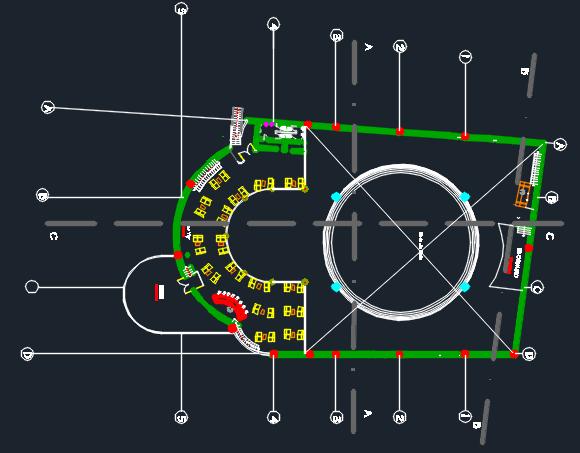 nightclub bar  u0026 disco 2d dwg design plan for autocad