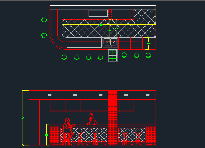 Game Room Detail 2d Dwg Design Section For Autocad