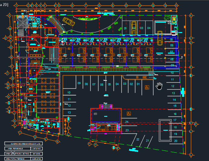 Hotel In The City 2d Dwg Design Plan For Autocad Designs Cad