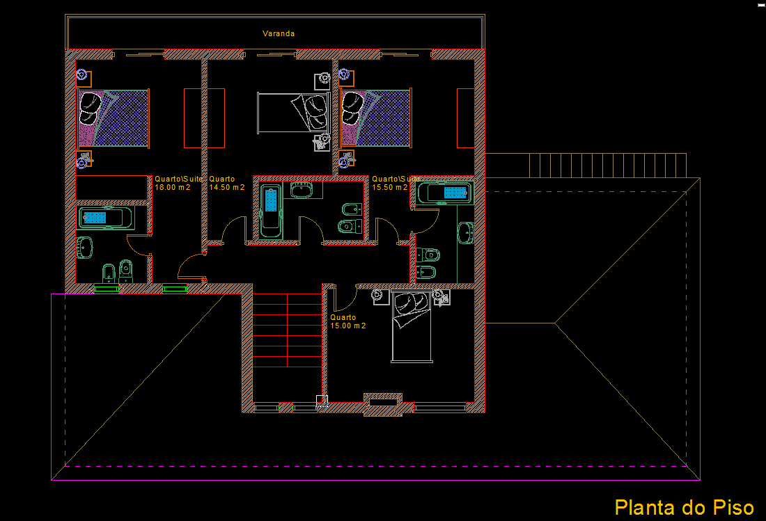 Civil house plan autocad dwg Cad house