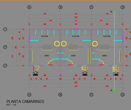 Soccer Fields 2d Dwg Design Elevation For Autocad