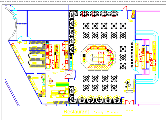 Free Cad Floor Plans together with Restaurant   buffet dwg block for autocad 50883 together with House Plan Elevation And Section as well Kitchen Design Dwg as well Small Bakery Layout Floor Plan. on kitchen restaurant floor plans 2d dwg design plan autocad