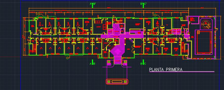 Casino floor plan dwg