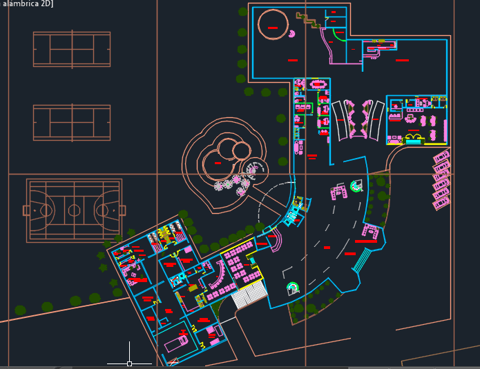 Five Levels Luxury Hotel With Floor Plans 2d Dwg Design