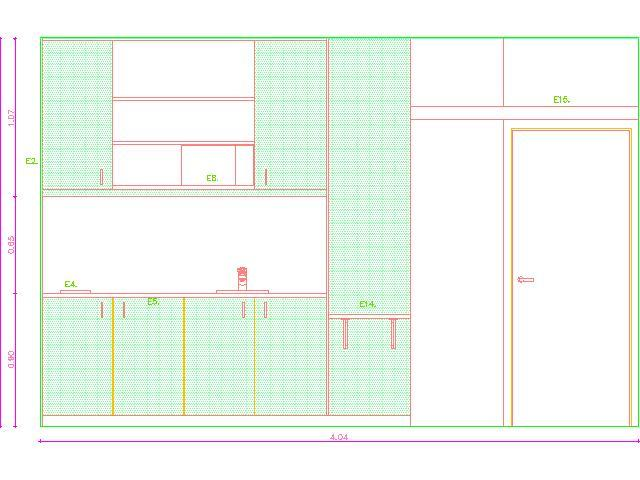 Room Of Student Residence 2d Dwg Plan For Autocad Designscad