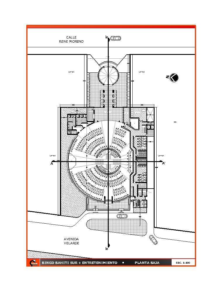 Restaurant, Hotel, Food Court 2D DWG Plan for AutoCAD • Designs CAD