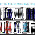 Architectural Details For 2D DWG Details For AutoCAD